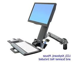 Ergotron 45-266-026 StyleView Sit-Stand Combo Arm - Mounting