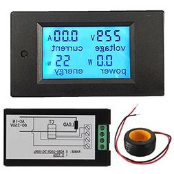 100a ac power panel meter