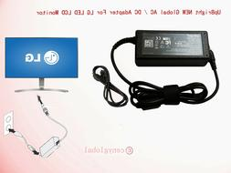 19V AC/DC Adapter For LG Electronics 19 20 22 23 24 27'' LED