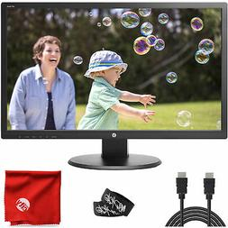 "HP 24"" TN LCD LED Backlit 1080p FHD Monitor 24UH 5ms 60Hz 19"