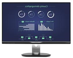 "Philips 258B6QUEB 25"" USB-C Monitor, Quad HD 2560x1440 IPS,"