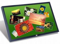 """3M 98-0003-3695-2 C3266PW 32"""" LCD Touchscreen Monitor, 5 ms,"""