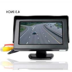 4.3in LCD Monitor Car Camera Rear View Backup Parking Revers