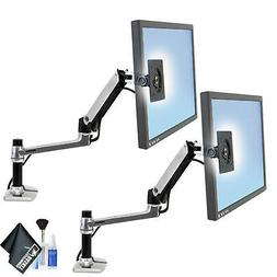 Ergotron 45-241-026 LX Desk Mount LCD Arm - 2 Pack with Esse
