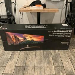 LG 49WL95C-W 49 inch Curved UltraWide HDR IPS LCD Monitor wi