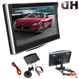 """5"""" TFT LCD Display HD Screen Monitor For Car Rearview Revers"""