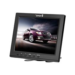 "Eyoyo 8""Inch TFT LCD HD Monitor Color Screen with VGA/HDMI/B"