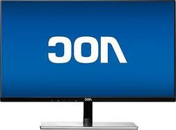 "AOC - i2779vh 27"" IPS LED FHD Monitor - Black/Silver"