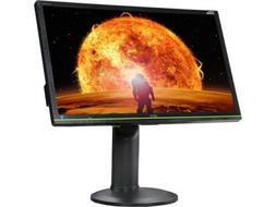 "Aoc - G-sync 24"" Led Monitor - Black/green"