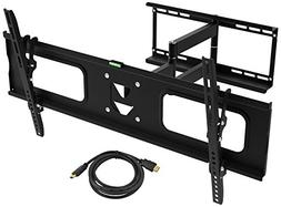 Ematic TV Wall Mount Kit with 12 Degree Tilt, 180 Degree Swi