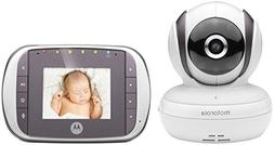 Motorola MBP35S- Digital Video Baby Monitor, White