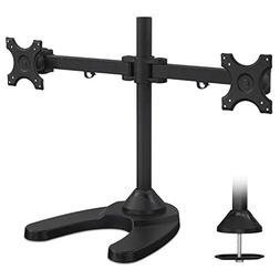 Mount-It! MI-781 Freestanding Dual Monitor Desk Mount - Heav