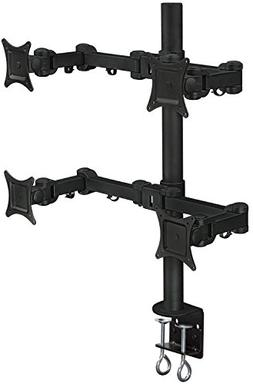 Mount-It! Quad Monitor Desk Mount for Desktop, 4 LCD Screens