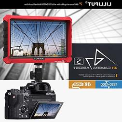 Lilliput A7S 7 Inch On Camera Field Monitor Supports 4K HDMI