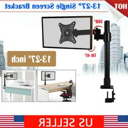 Adjustable Computer Monitor Desk Mount Stand for Single LCD