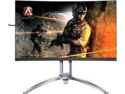 "AOC Agon AG273QCX 27"" Curved Gaming Monitor, 2K QHD, FreeSyn"
