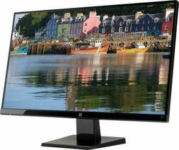 "Brand New HP - 27w 27"" IPS LED FHD Monitor - Black Onyx"