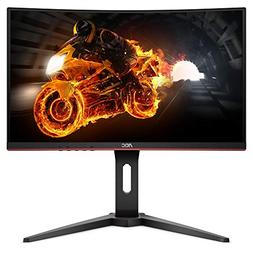 "AOC C24G1 23.6"" Curved Frameless Gaming Monitor, FHD 1920x10"