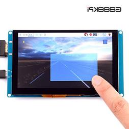 GeeekPi 5 Inch Capacitive Touch Screen 800x480 HDMI Monitor