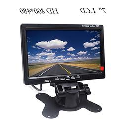 "HD Car Monitor Padarsey 7"" HD 800×480 LED Backlight TFT LCD"