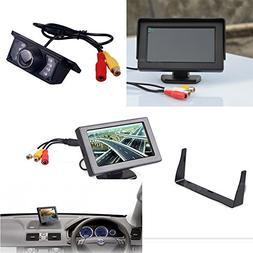 DHSHOP Car Reverse Rear View System Night Vision Backup Came