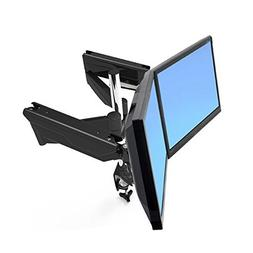 Suptek Dual Arm Full Motion LCD Stand Desk Mount for 10''-30