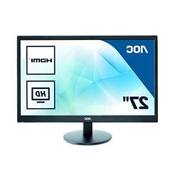 "AOC 27"" E2770SHE 1080p WLED LCD Monitor HDMI/VGA Widescreen"