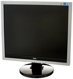 AOC E719SD Professional 17'' LED-Backlit LCD Monitor, Black/
