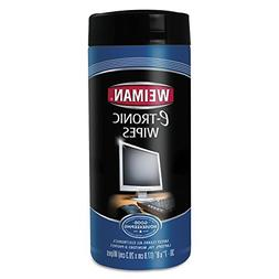 Weiman Electronic Wipes Canister 30 Count