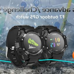 F7 GPS Smart Watch Man IP67 Waterproof Color LCD Heart Rate