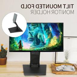 """Folding Monitor Holder Stand 10""""-27"""" LCD Touchscreen Monitor"""
