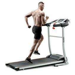 folding treadmill with safety lock lcd monitor