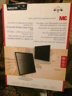 3M Framed LCD Privacy Filter for Widescreen Desktop Monitor