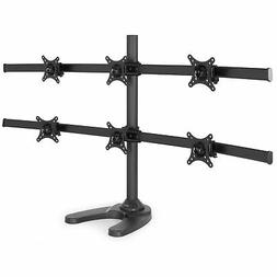 VIVO Hex LCD Monitor Stand, Desk Mount, Free Standing with O