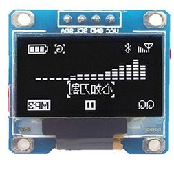 "HWAYEH 0.96"" Inch Yellow Blue White I2c IIC Serial OLED LCD"