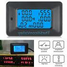 100A AC LCD Digital Panel Power Watt Meter Monitor Voltage K