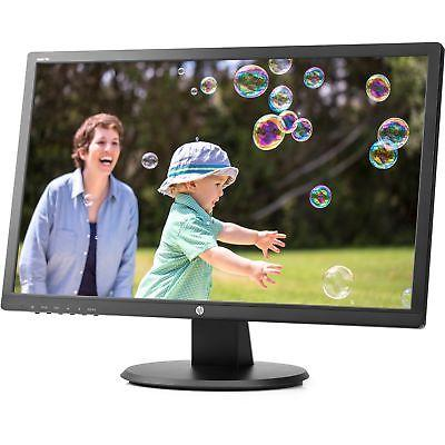 "HP 24uh 24"" LCD Monitor - 5 ms 1920 x 1080 Full HD"