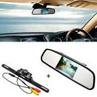 """4.3"""" TFT LCD Monitor Car Rear View System Backup Reverse Cam"""