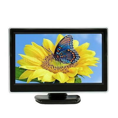 """5"""" TFT LCD Monitor Screen For Car Rear View Reverse System D"""