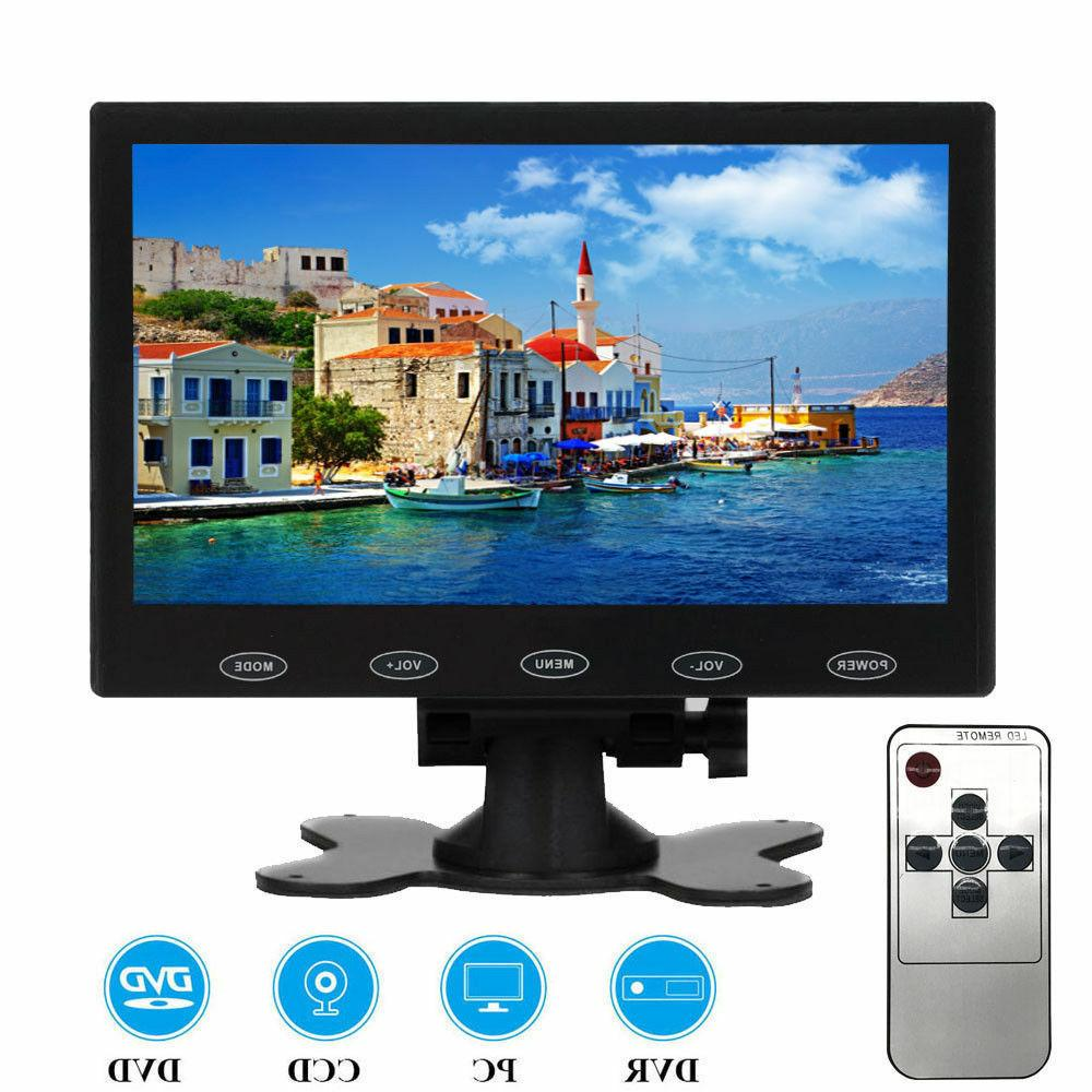 "7""/9""/10"" LCD CCTV Car Monitor PC Screen AV/RCA/VGA/HDMI 108"