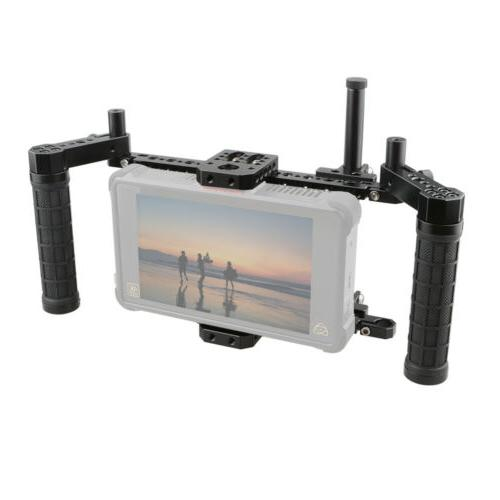 "CAMVATE 5""  7"" Inch LCD monitors cage kit w/  Adjustable Han"