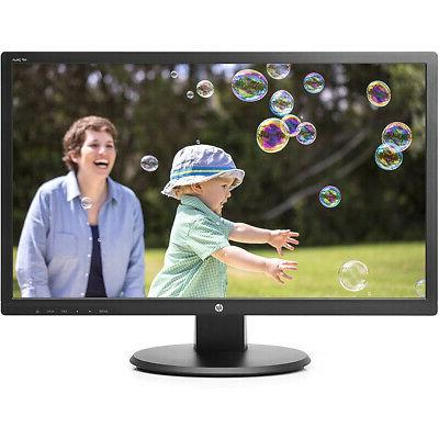 "HP 24uh 24"" FullHD 1920 x 1080 LED LCD Monitor - DVI - HDMI"