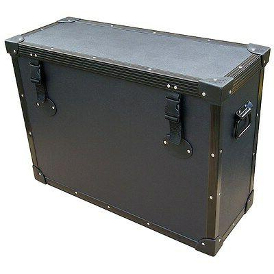 TUFFBOX Light Duty Road Case for Monitors, TV's, LCD's w/Sta