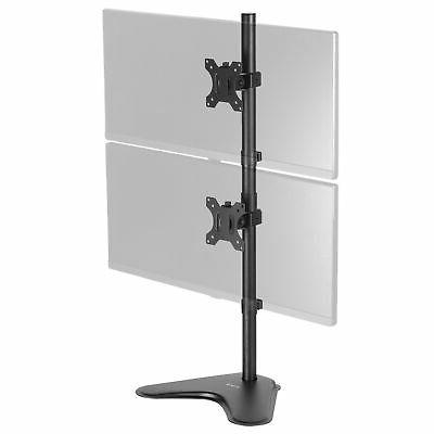 VIVO Dual Monitor Desk Stand Free-standing LCD mount, Holds