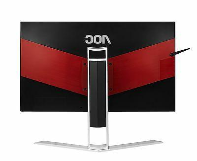 AOC AGON LED 16:9 - - 2560 1440 - Million 50,000,000:1 - - Speakers HDMI - VGA DisplayPort 47 Red