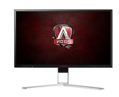 AOC AG271QX LED 16:9 - - 2560 1440 - 16.7 - 350 - 50,000,000:1 - Speakers - DVI HDMI - DisplayPort - 47 W Black, Red