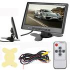 "DC 12V 7"" TFT LCD Car Rear View Backup Monitor 2 Channels Vi"