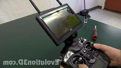 Deluxe FlySky FS-TH9X Adjustable Quick Release FPV LCD Monit