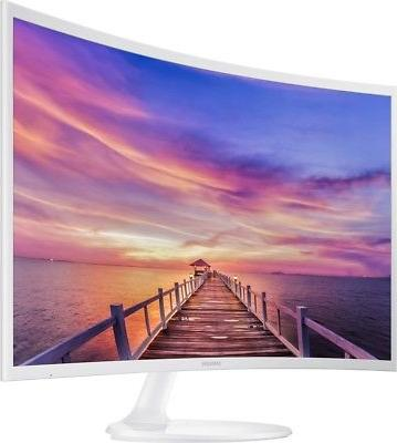 new 32 curved full hd lcd monitor