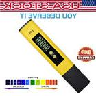 Portable Pen Type PH Meter Tester LCD For Wine Water Quality